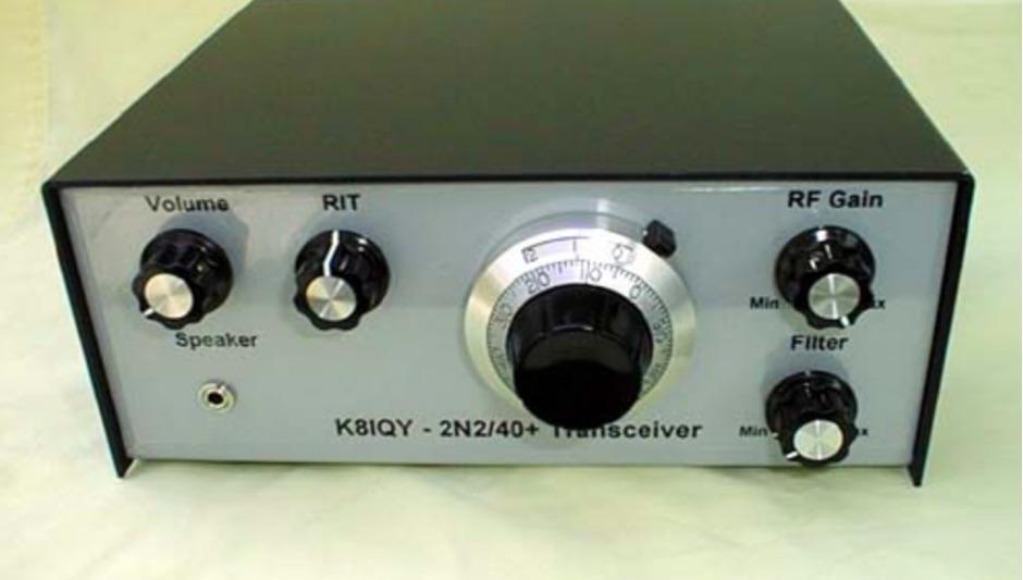 2N2/40+ QRP CW Transceiver
