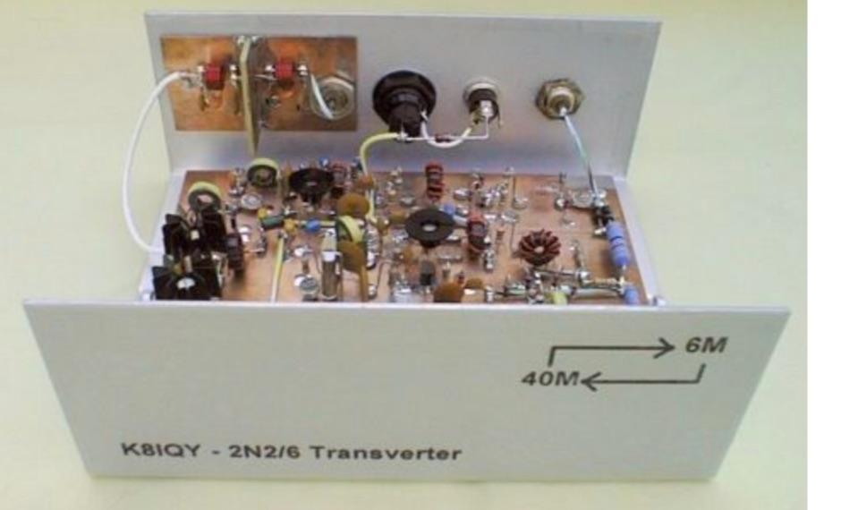 2N2/6 40 to 6 m Transverter