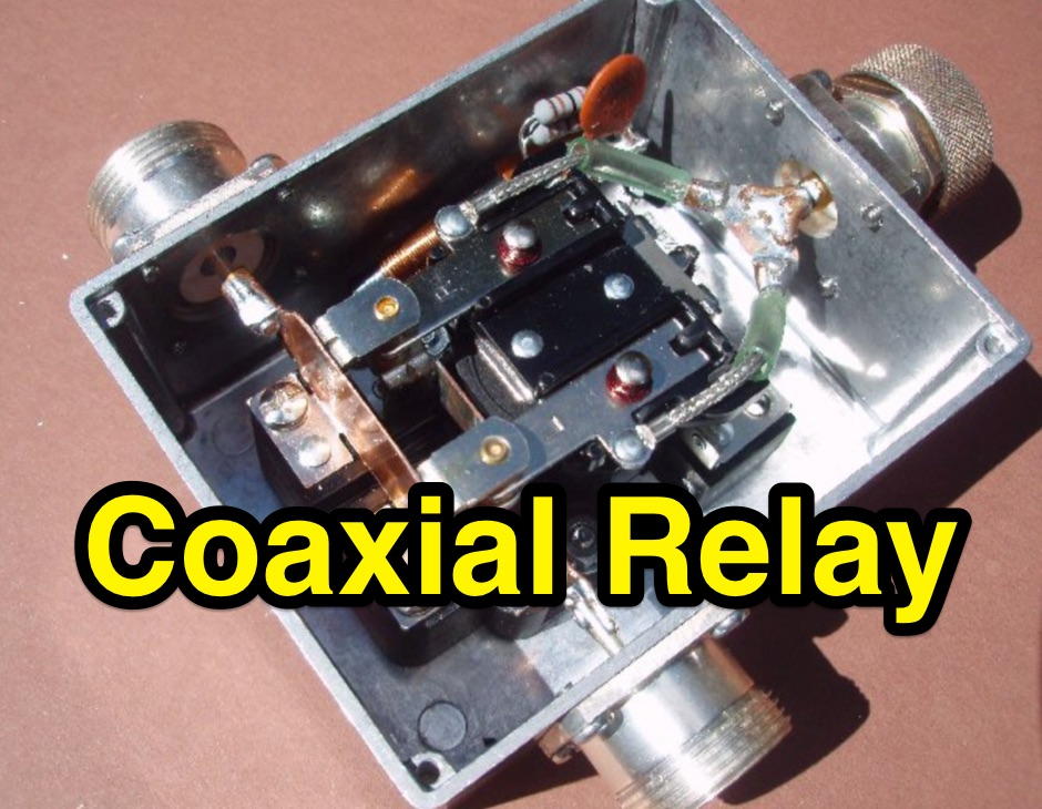 DXZone QRO Coaxial Relay for 50 MHz