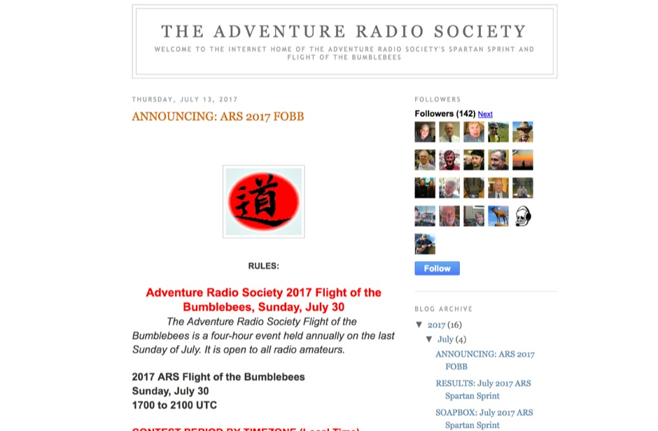 DXZone Adventure Radio Society