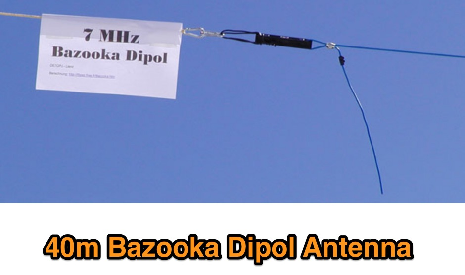 Bazooka-Dipol
