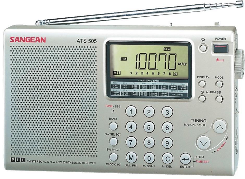 Sangean ATS-505 Review