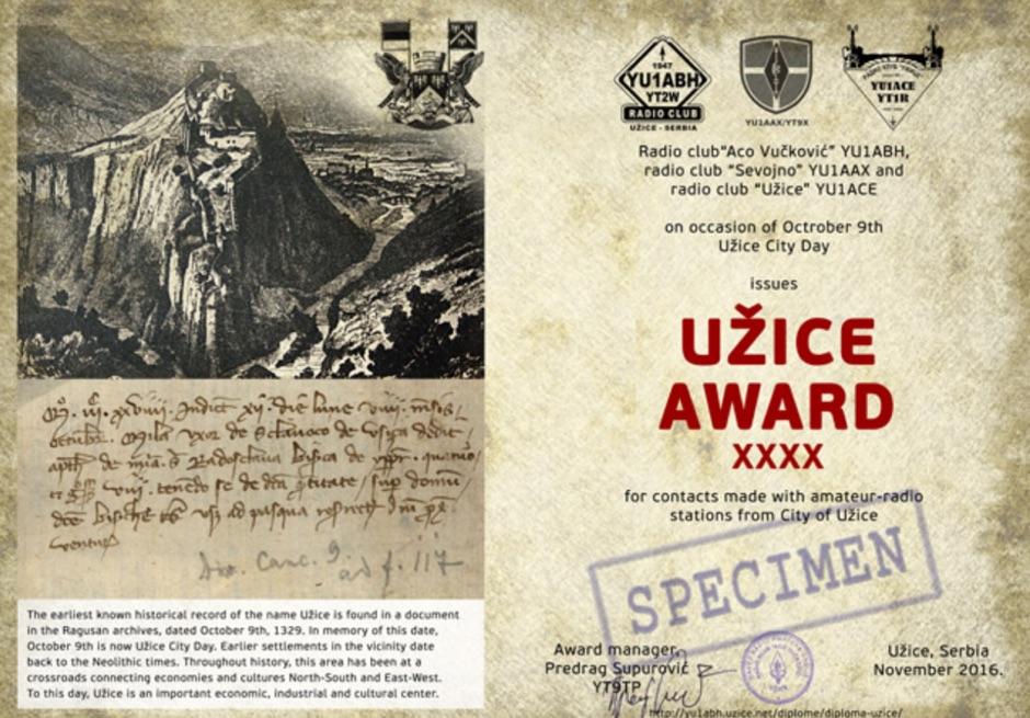 Uzice Award