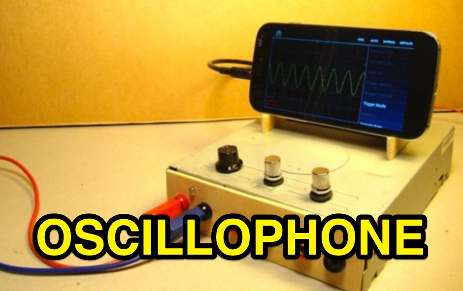 The Raspberry OscilloPhone