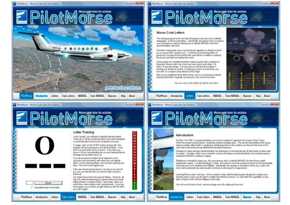 DXZone PilotMorse Morse Code Tutor for Aviation