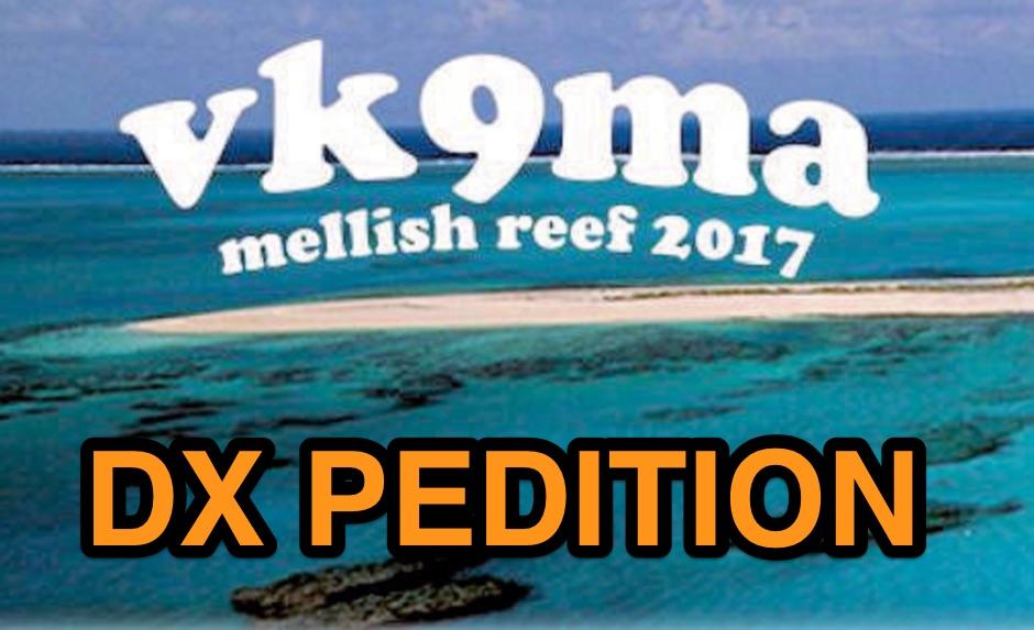 VK9MA Mellish Reef 2017