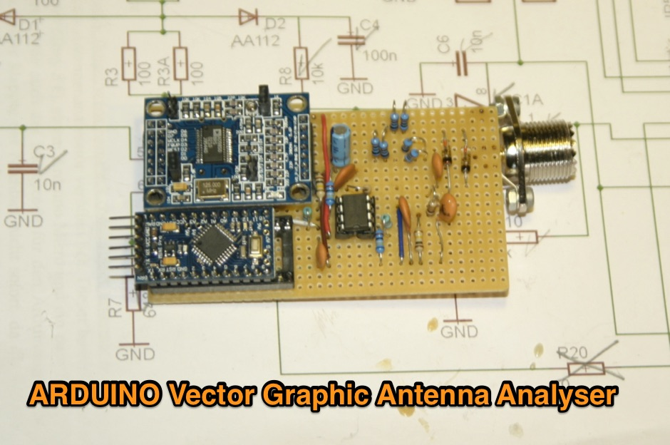 Arduino Vector Graphic Antenna Analyser