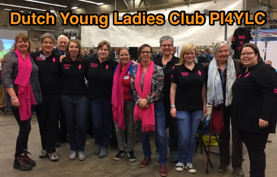 DXZone Dutch Young Ladies Club, Proud 2B PI4YLC