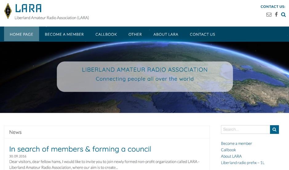 LARA Liberland Amateur Radio Association (LARA)