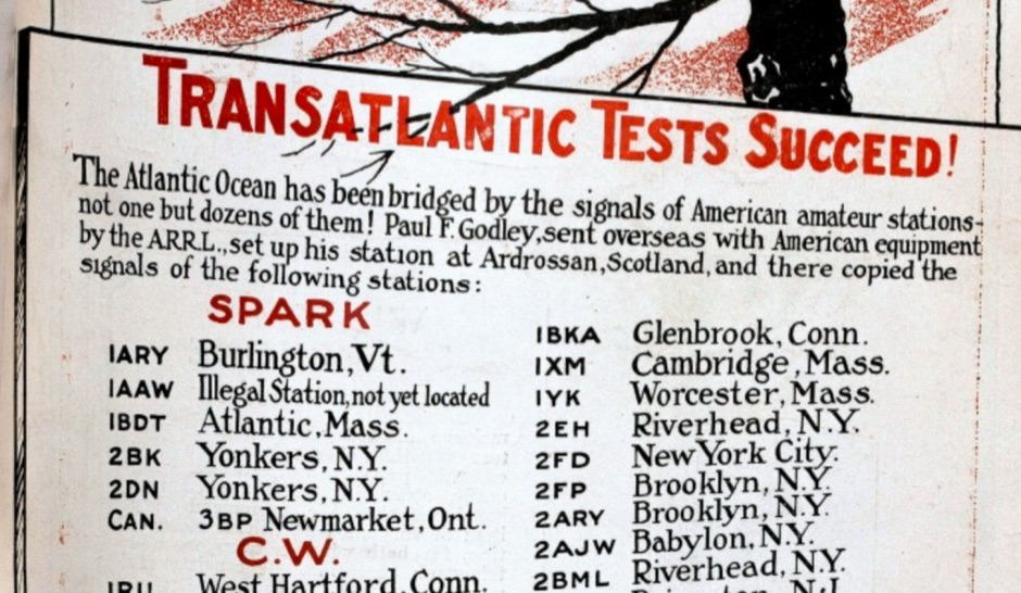 The Transatlantic Tests