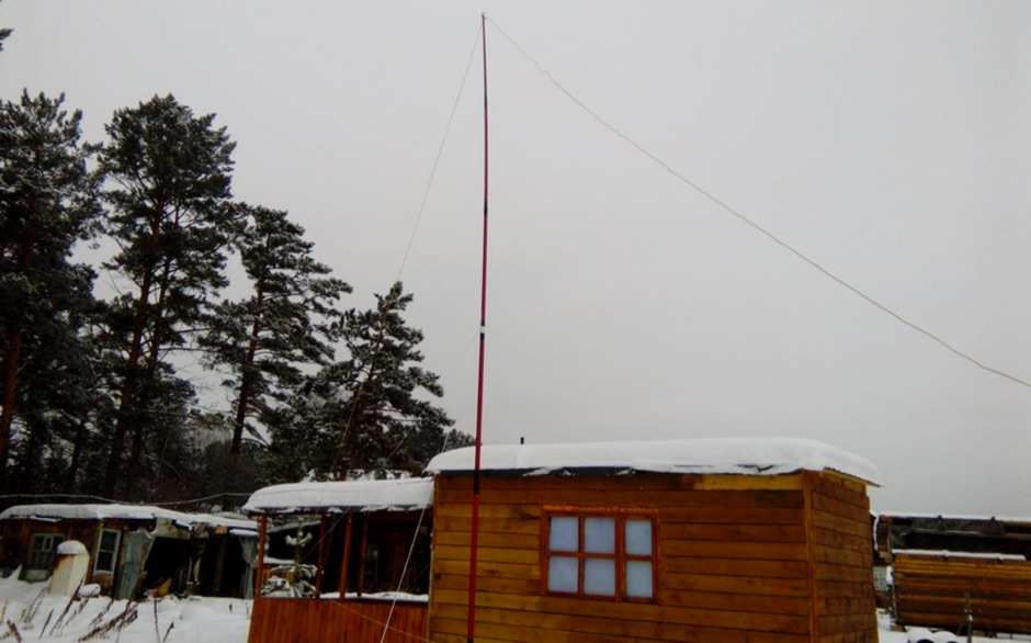 RX Flag Antenna FO0AAA 160-10 meters