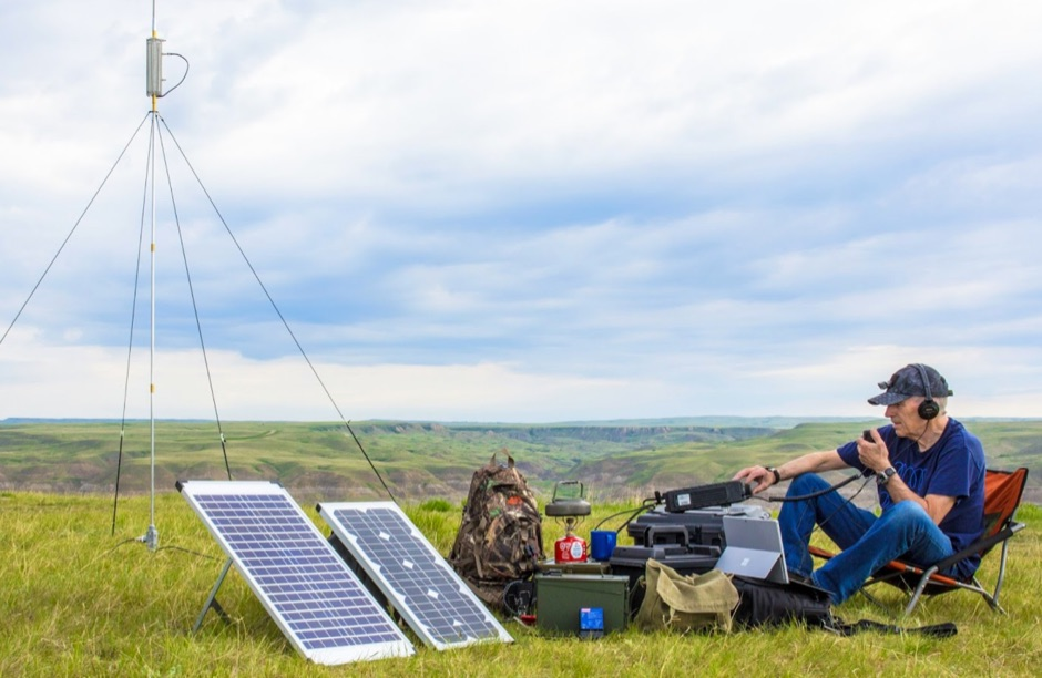 DXZone HF Portable Ops Solar Powered