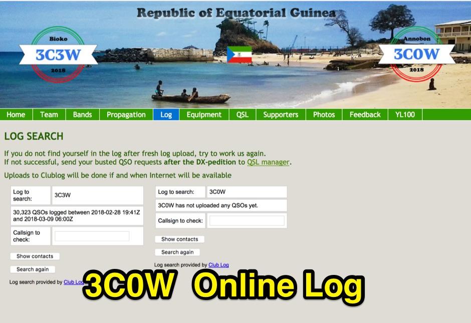 3C0W Log Online