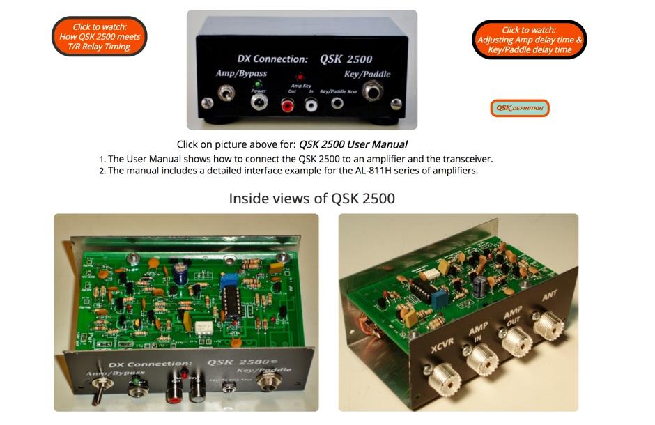 QSK Ham AMPs