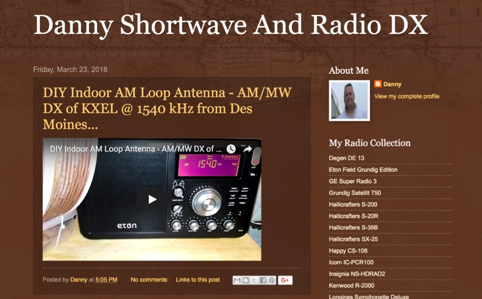 Danny Shortwave And Radio DX