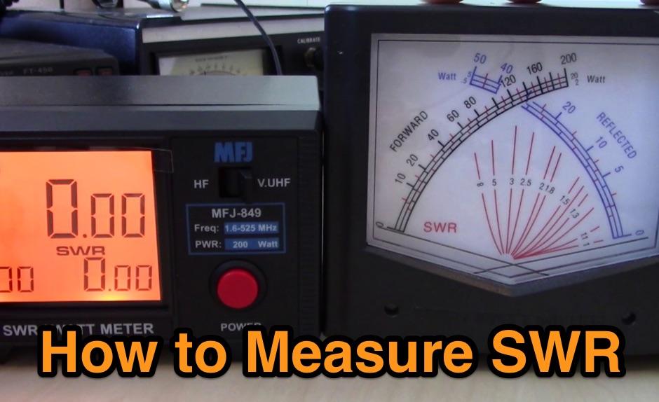 DXZone How to Measure SWR