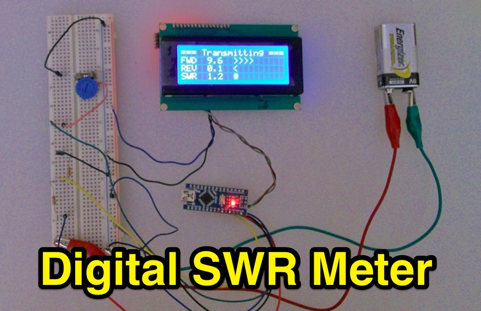 Digital SWR Meter with Arduino - Resource Detail - The