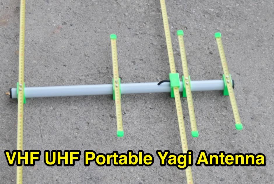 Duoband ultra portable yagi