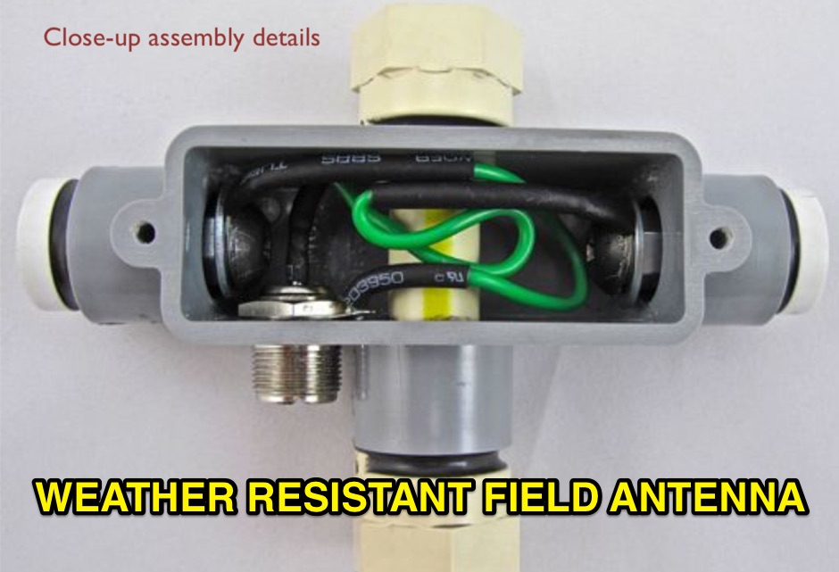 Weather Resistant Field Antenna for 50 MHz