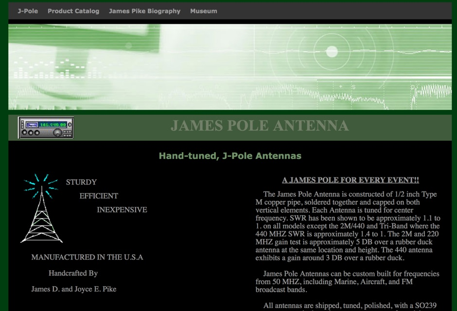 James Pole Antenna