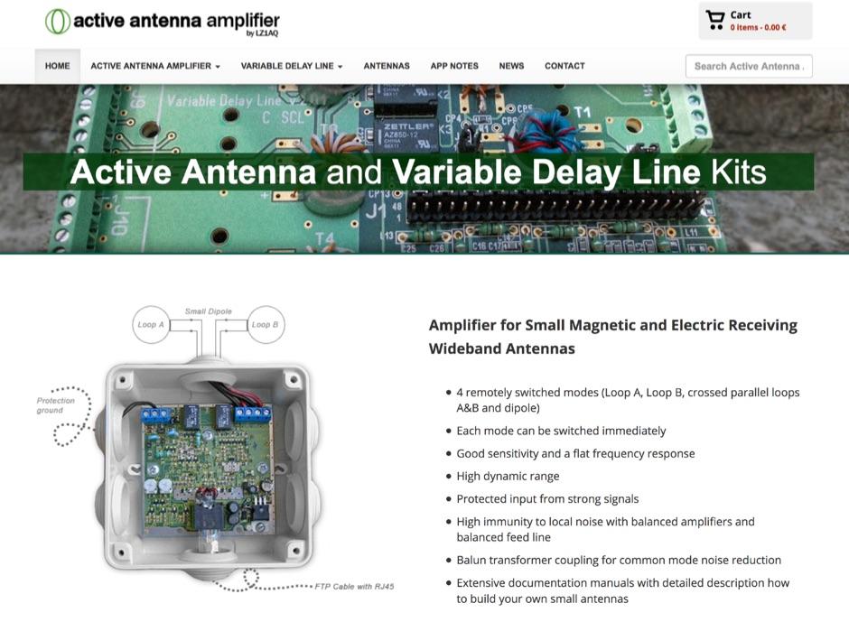 DXZone Active Antenna Amplifier