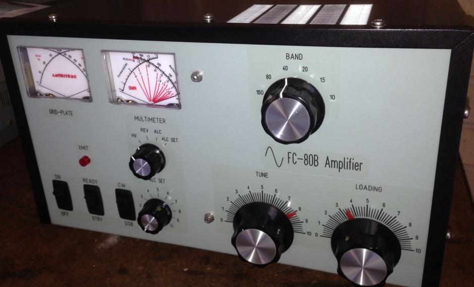 FC-80B Linear Amplifier - An AL-80B Copy