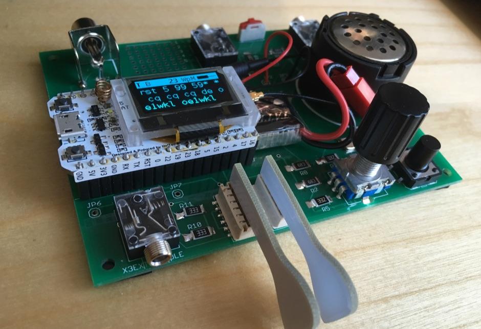 Metamorserino Morse Code Keyer