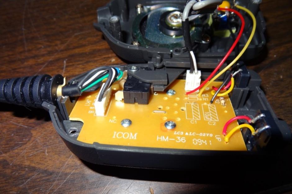Icom HM-36 Mod for ICOM IC-7200 and IC-7600