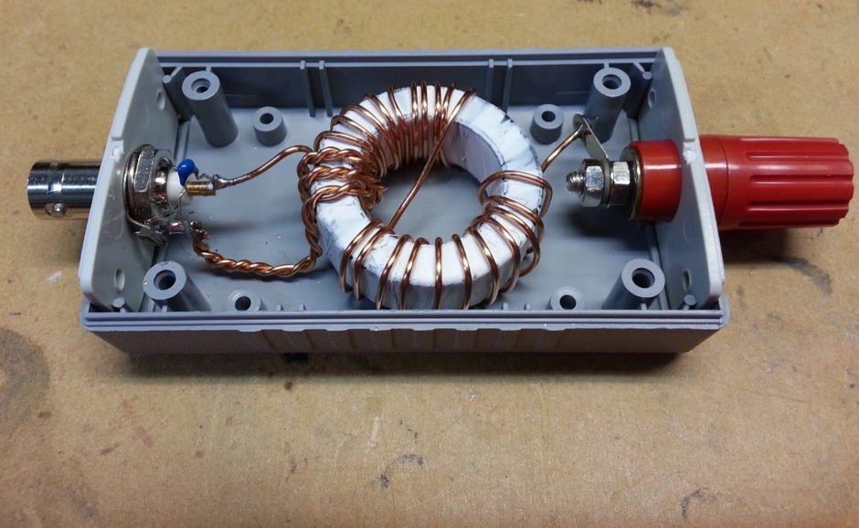 End-Fed HalfWave Matching Unit for SOTA operations