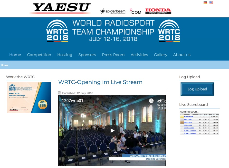 WRTC World Radiosport Team Championship 2018