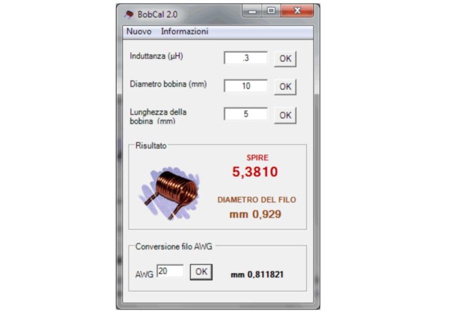 Bobcalc 2.0 Air Coil Calculator