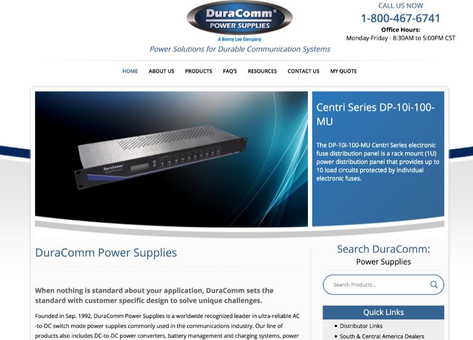 Duracomm Power Supplies