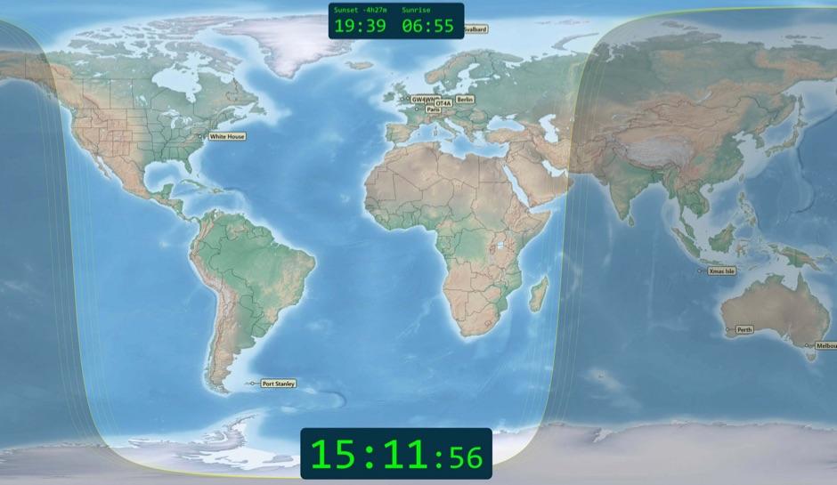 DXZone World Map