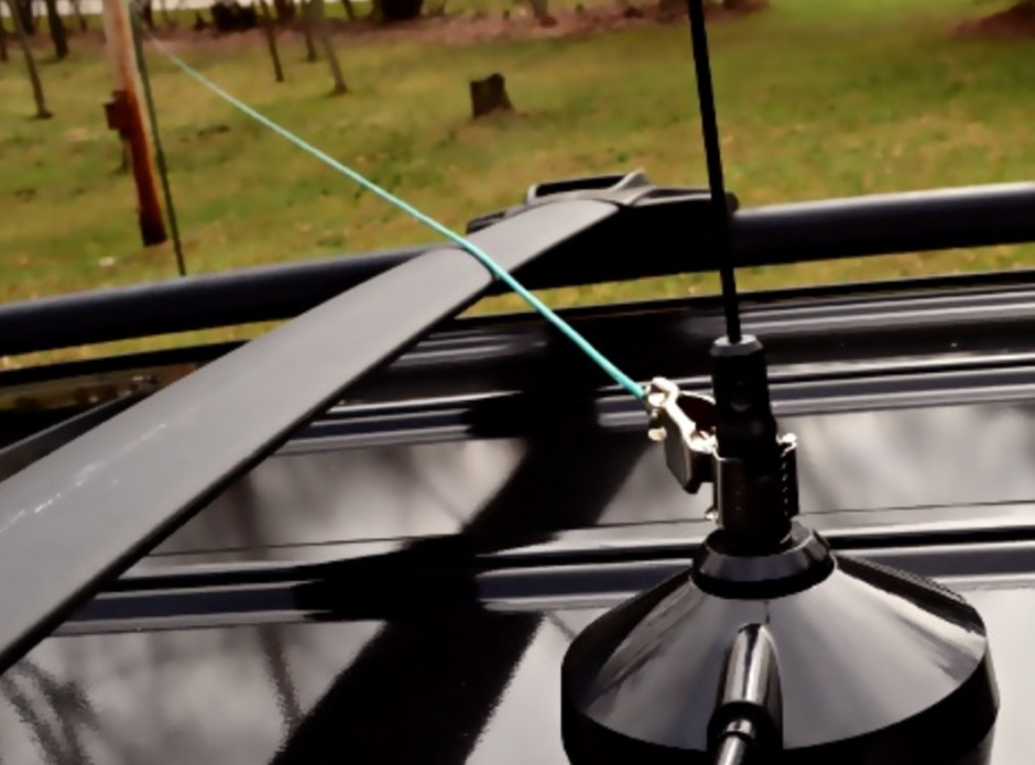 DXZone DIY NVIS Antenna Using a Mag Mount