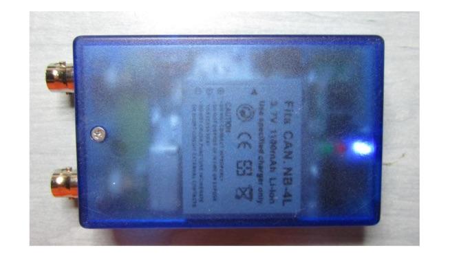 miniVNA Bluetooth interface