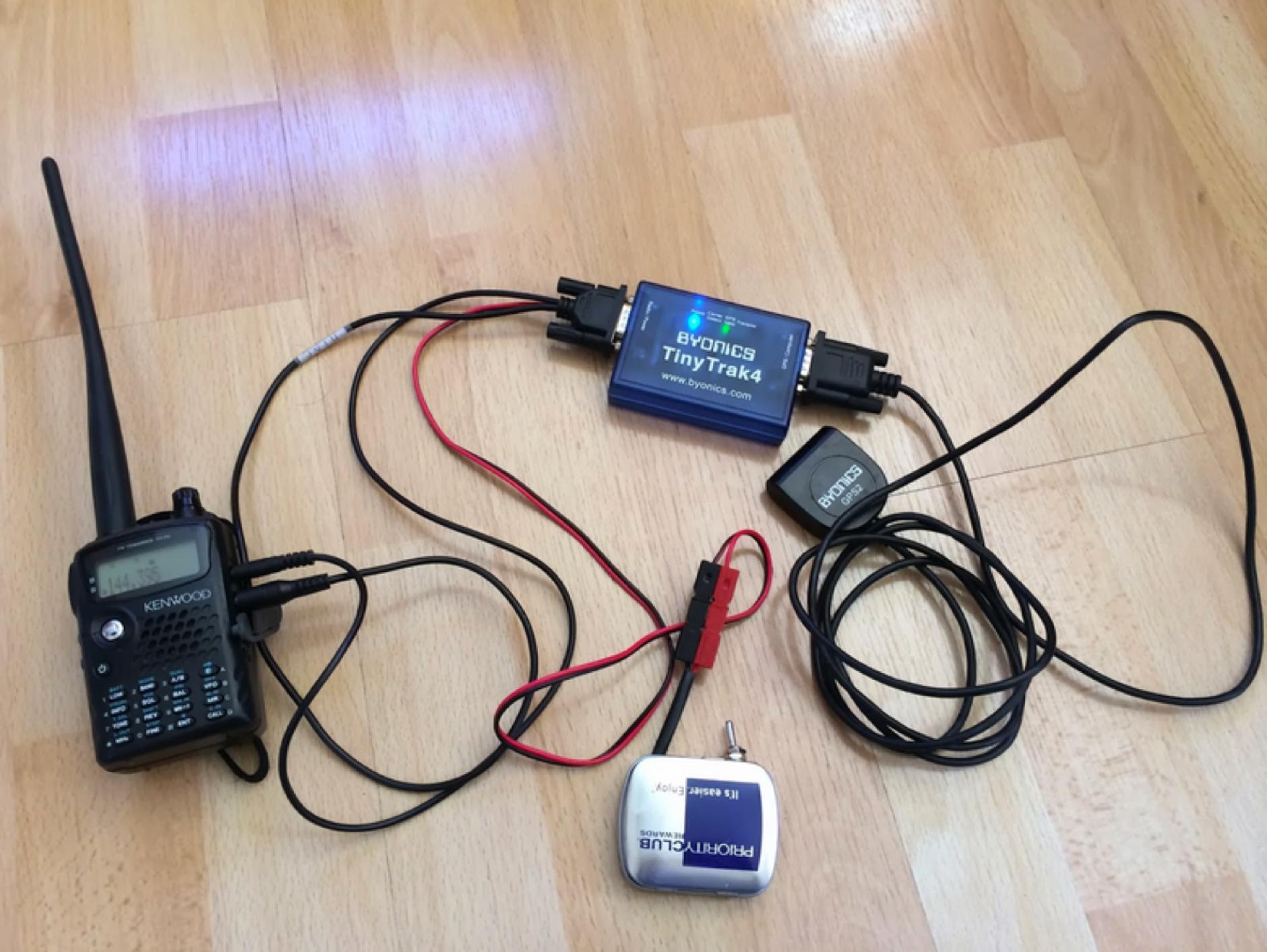 DXZone A battery for the Byonics TinyTrak4 TNC