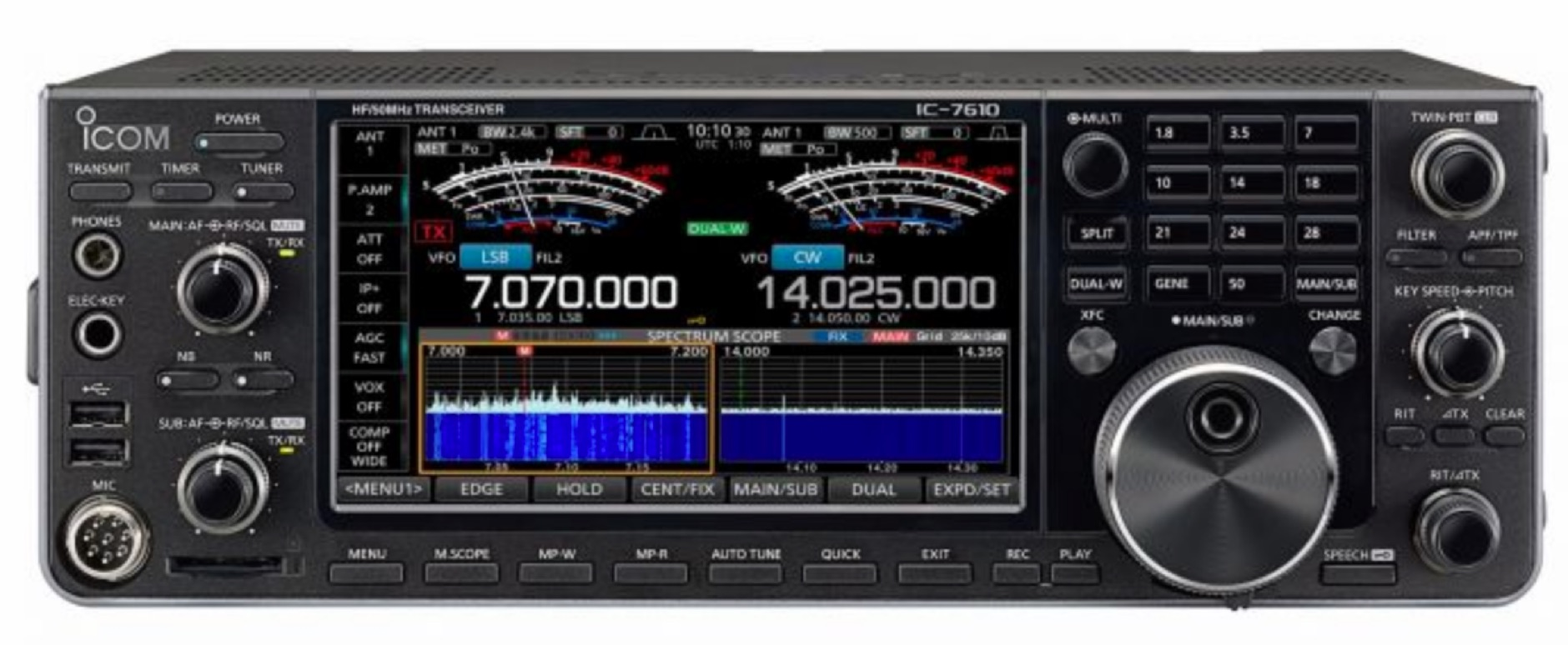 ICOM IC-7610 Sherwood Review