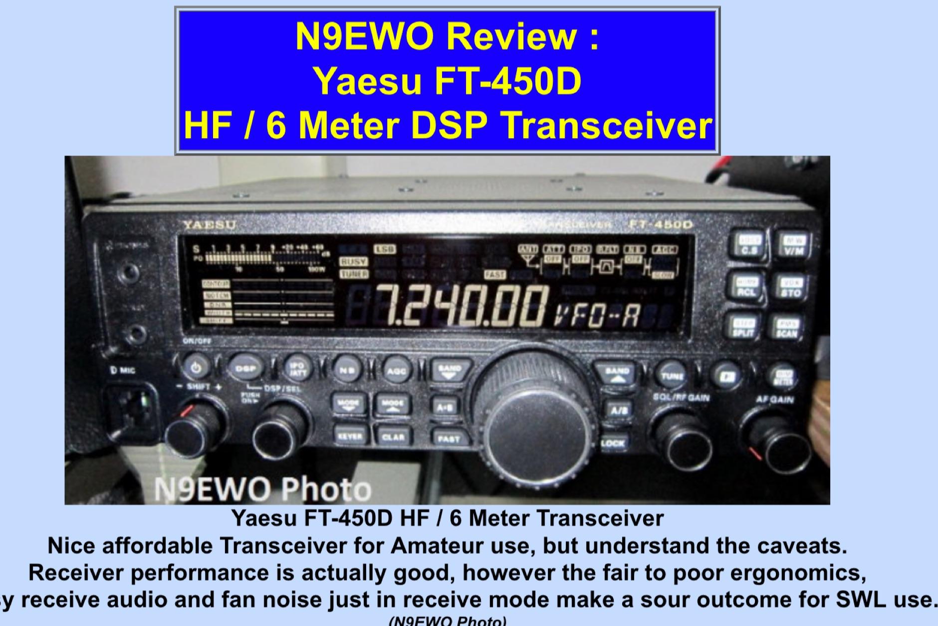 Yaesu FT-450D Review