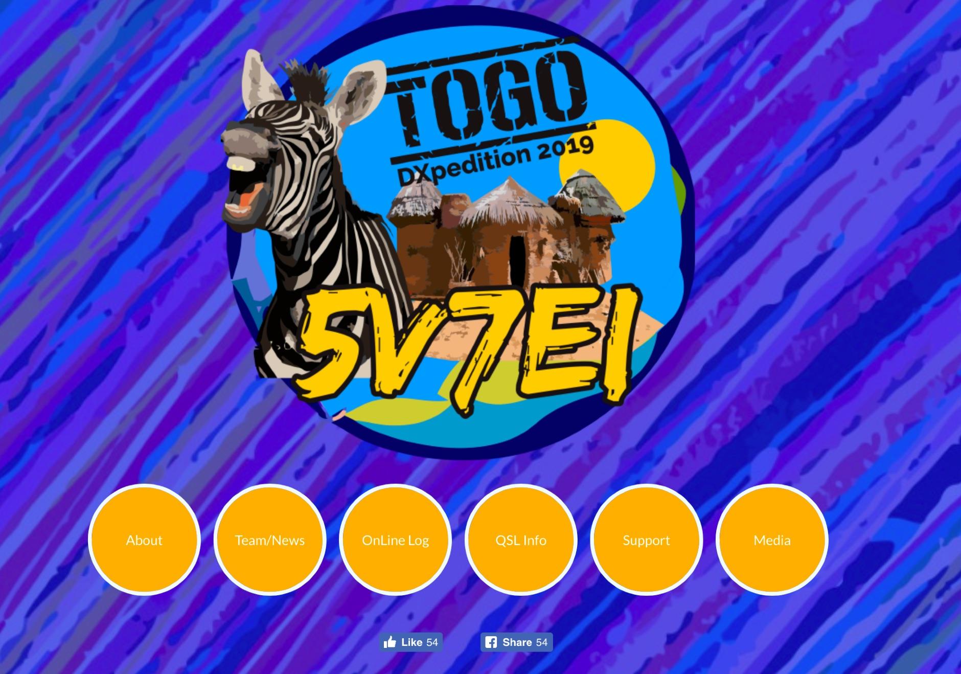 5V7EI Togo DX Pedition