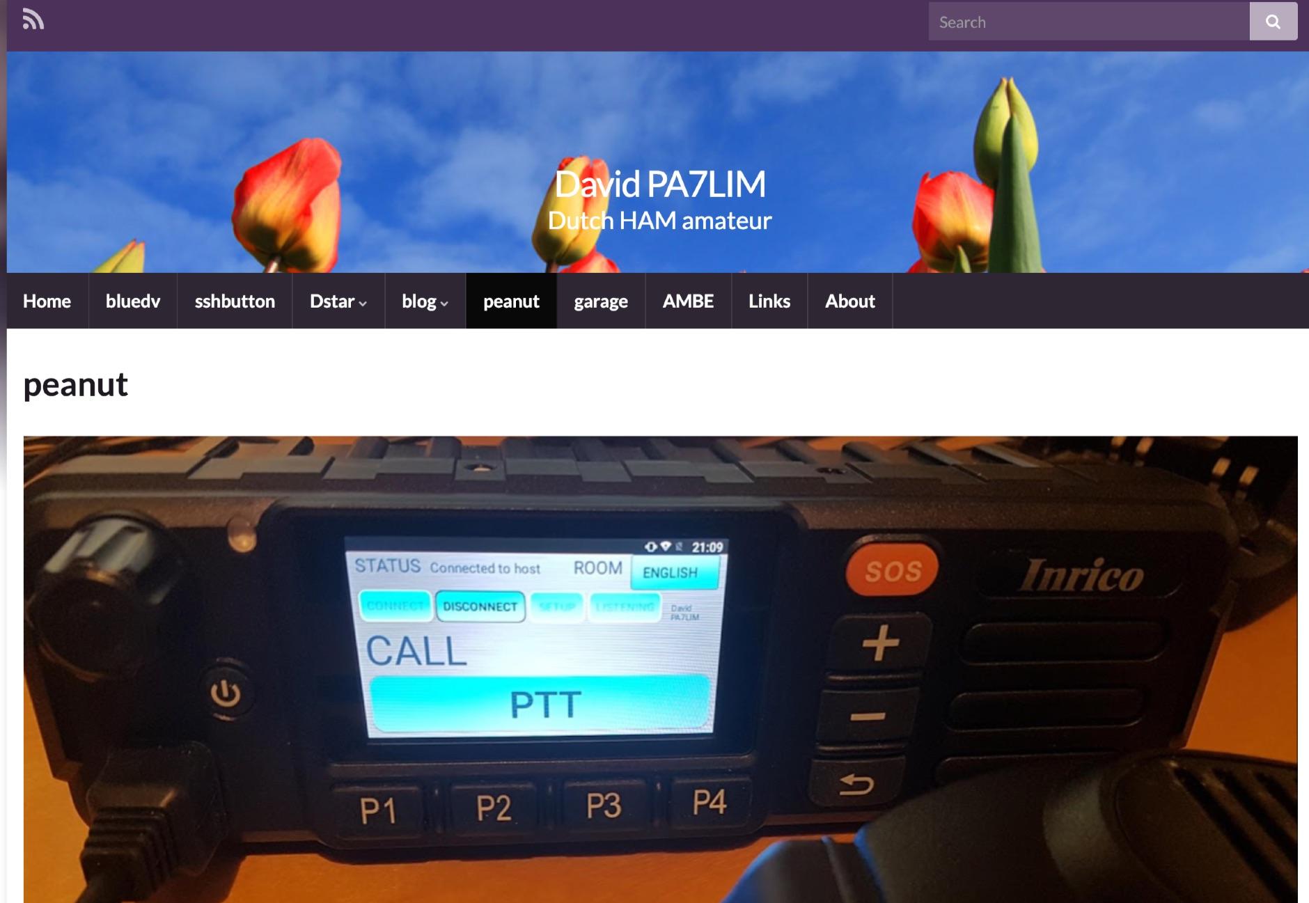 Peanut - Ham Radio Digital Voice Client