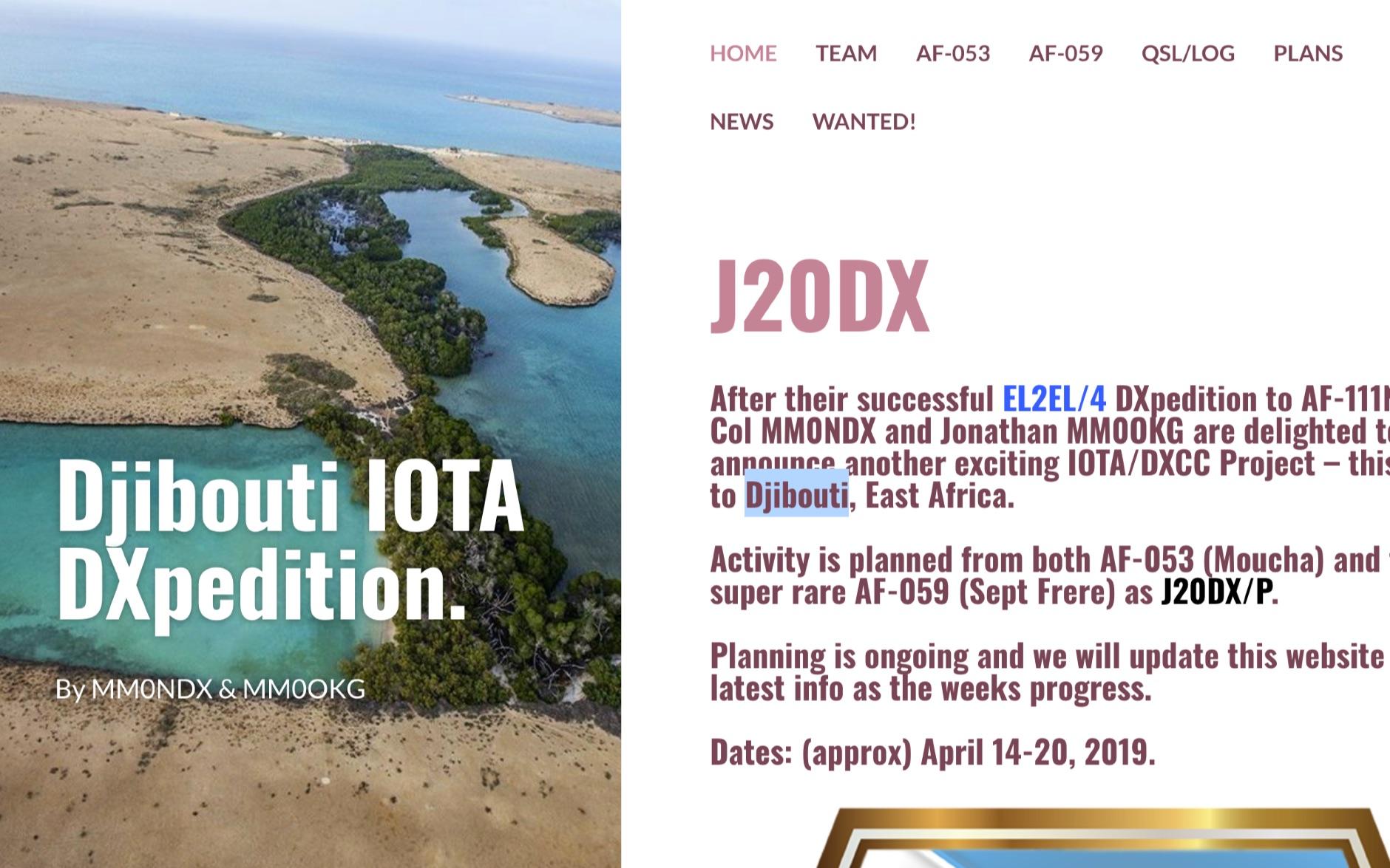 J20DX Djibouti