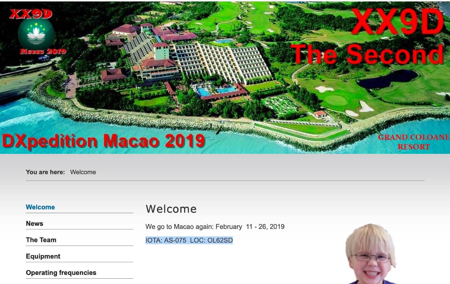 XX9D Macao