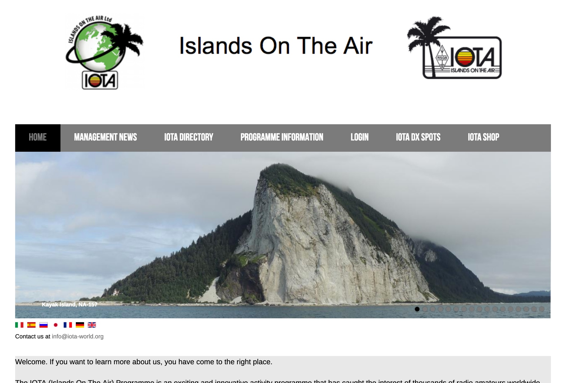 Islands on the Air - IOTA