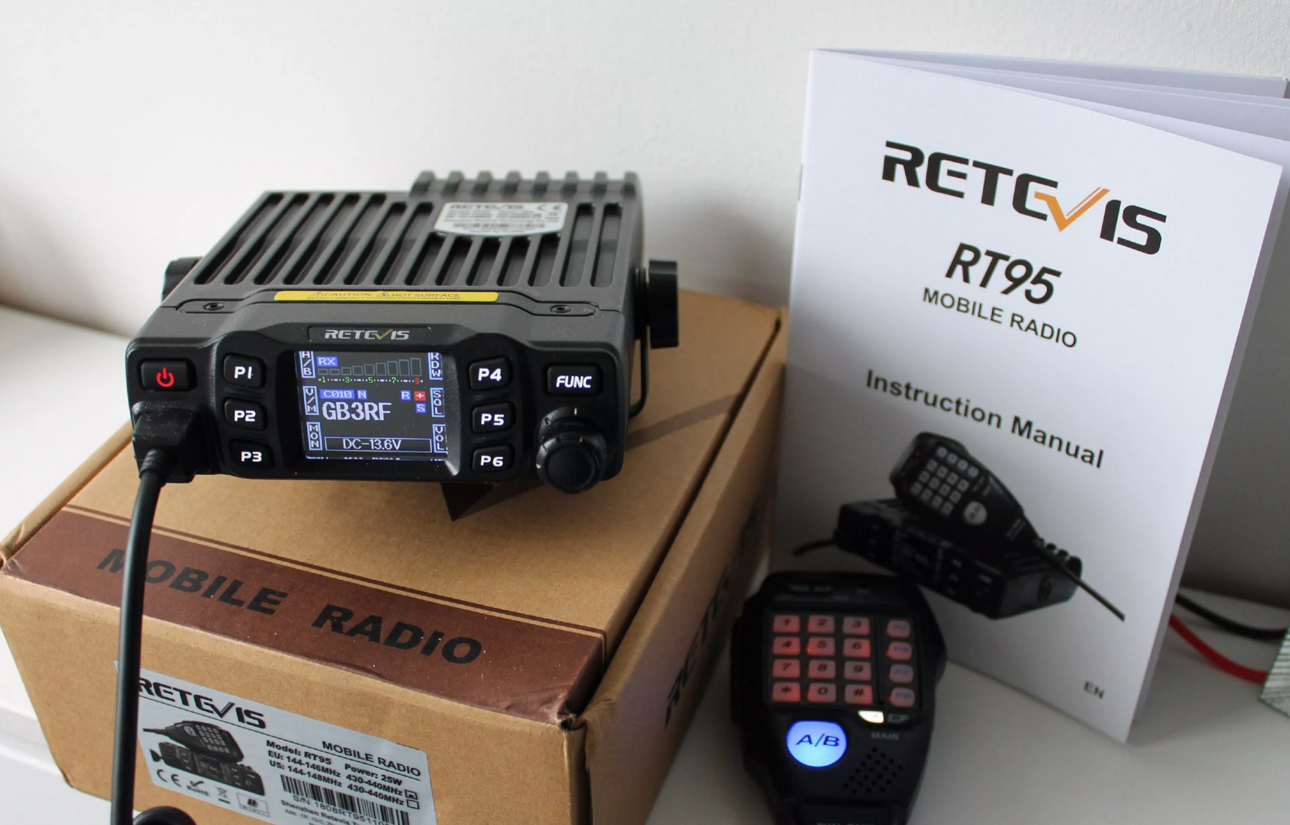 Retevis RT95 - Anytone AT-778UV Review