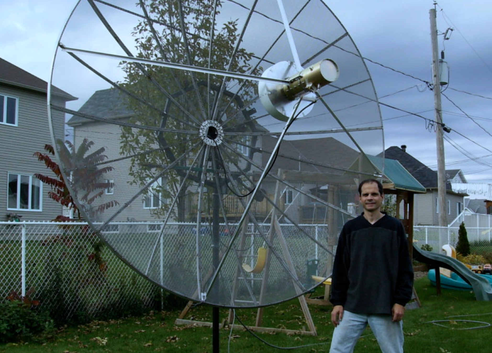 EME Dish Antenna Project