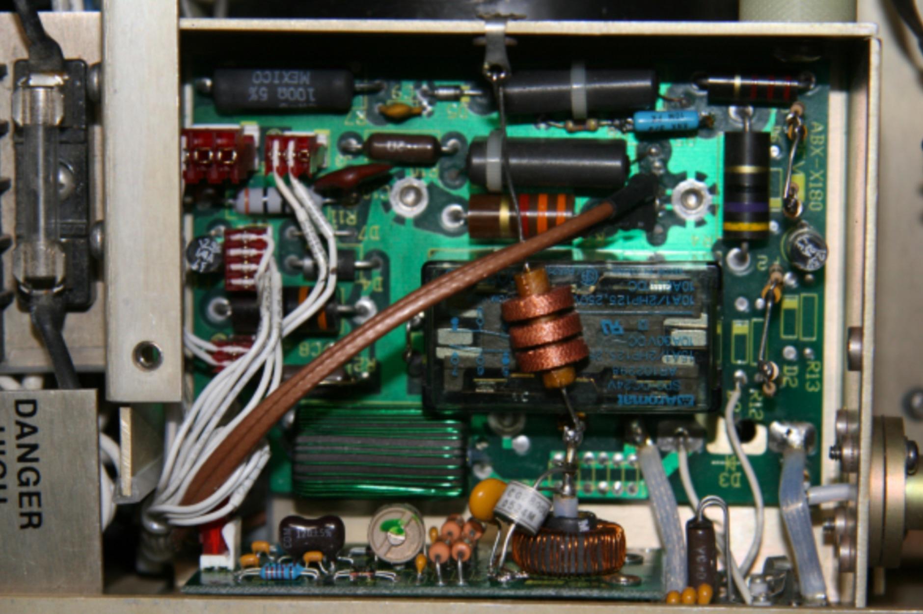 Alpha 87a Amplifier Fault 1