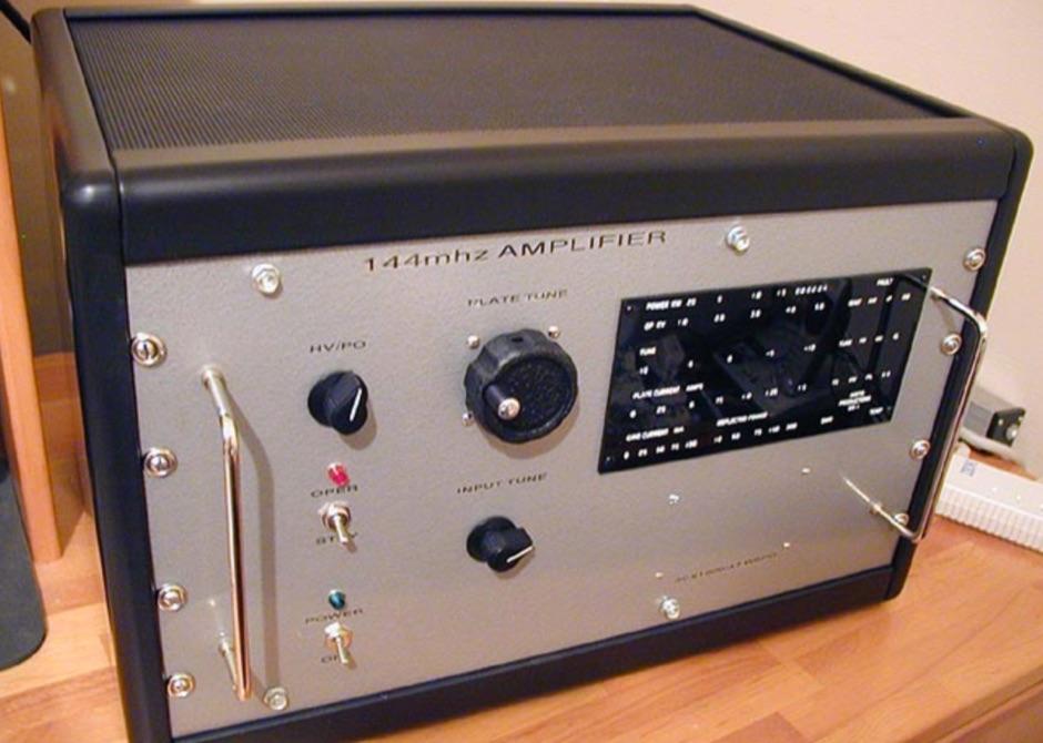 2m W6PO Power Amplifier Project