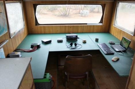Caravan Ham Radio Shack
