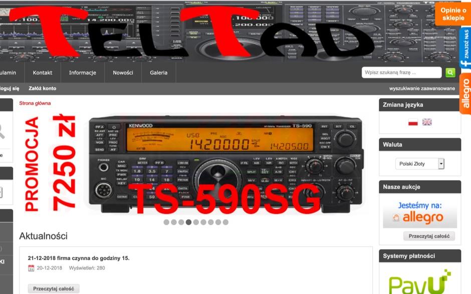 DXZone TelTad Online Shop
