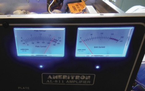 Ameritron AL-811 Panel Meter Lights